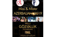 Baku to host Miss & Mister Azerbaijan 2019 final