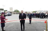 "President Ilham Aliyev inaugurated Sabunchu Railway Station Complex <span class=""color_red"">[PHOTO]</span>"
