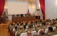 Azerbaijan's defense minister holds official meeting on results of large-scale exercises