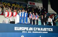 "Winners among junior trios, groups within European Aerobic Gymnastics Championships awarded in Baku <span class=""color_red"">[PHOTO]</span>"