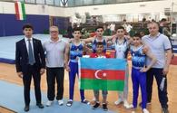 Azerbaijani gymnasts won six medals in Budapest