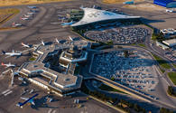 Baku's Heydar Aliyev International Airport operates on schedule despite weather conditions