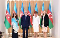 """Azerbaijani First VP meets with chairman of Rothschild Global Financial Advisory <span class=""""color_red"""">[PHOTO]</span>"""