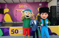 Mascots of 15th Summer European Youth Olympic Festival presented in Baku