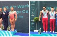 National gymnasts win two gold medals in Slovenia
