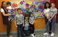 """Azerbaijani artist gives master class in France <span class=""""color_red"""">[PHOTO]</span>"""