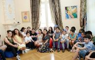 "Children's Day marked at Magsud Ibrahimbayov Center <span class=""color_red"">[PHOTO]</span>"