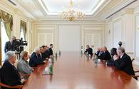"President Ilham Aliyev receives delegation of International Union of Architects <span class=""color_red"">[UPDATE]</span>"