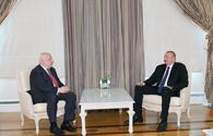 "President Ilham Aliyev receives OSCE PA president Tsereteli <span class=""color_red"">[UPDATE]</span>"