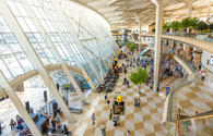 Heydar Aliyev Int'l Airport's passenger traffic up