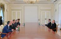 "President Ilham Aliyev receives vice-president of German Bundestag <span class=""color_red"">[UPDATE]</span>"