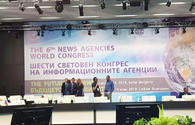 """Trend news agency taking part in 6th News Agencies World Congress in Bulgaria <span class=""""color_red"""">[PHOTO]</span>"""