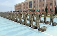 "Azerbaijani peacekeepers leave for Afghanistan <span class=""color_red"">[PHOTO/VIDEO]</span>"