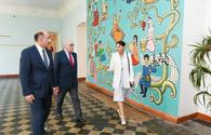 "Azerbaijani First Vice-President Mehriban Aliyeva views conditions in Children's Arts School No. 2 <span class=""color_red"">[PHOTO]</span>"