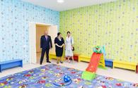 "Azerbaijani First Vice President Mehriban Aliyeva attends opening of new building of orphanage-kindergarten No 11 in Yasamal <span class=""color_red"">[PHOTO]</span>"