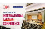 Azerbaijani delegation attending 108th Session of Int'l Labor Conference