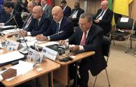 Azerbaijani Presidential Administration head takes part in int'l meeting on security