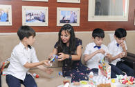 "Heydar Aliyev Foundation VP visits boarding schools in Baku <span class=""color_red"">[PHOTO]</span>"