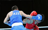 Another Azerbaijani boxer reaches quarter-finals at 2-nd European Games