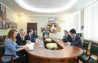 Ambassador Extraordinary and Plenipotentiary of United States of America to Azerbaijan Republic pays official visit to ANAMA HQ