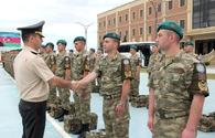 "Group of Azerbaijani peacekeepers returns from Afghanistan <span class=""color_red"">[PHOTO]</span>"