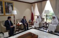 "Qatari environment minister invited to Azerbaijan <span class=""color_red"">[PHOTO]</span>"
