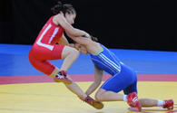 Azerbaijani female wrestler wins silver of 2nd European Games