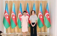 """First Vice-President Mehriban Aliyeva meets with Director-General of UNESCO Audrey Azoulay <span class=""""color_red"""">[UPDATE]</span>"""