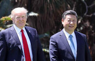 President Donald Trump says is 'in no hurry' for a deal with China