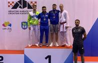 National karateka grabs gold in Croatia