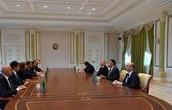 "President Ilham Aliyev receives delegation led by Italian Minister of Agricultural, Food, Forestry and Tourism Policies <span class=""color_red"">[UPDATE]</span>"