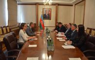 "Azerbaijani FM receives incoming German ambassador <span class=""color_red"">[PHOTO]</span>"