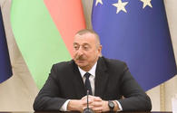 Ilham Aliyev: Change of status-quo means beginning of de-occupation of Azerbaijani territories