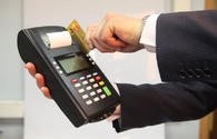 Non-cash payments via cards up