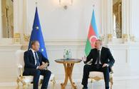 Ilham Aliyev: EU-Azerbaijan relations based on good spirit, mutual support