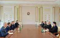 President Ilham Aliyev receives delegation led by NATO Supreme Allied Commander Europe