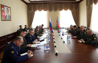 "High-ranking military officials of Azerbaijan, Russia talk over Karabakh conflict <span class=""color_red"">[PHOTO/VIDEO]</span>"