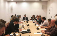 """Hikmet Hajiyev talks about Azerbaijan's foreign policy priorities at Chatham House <span class=""""color_red"""">[PHOTO/VIDEO]</span>"""