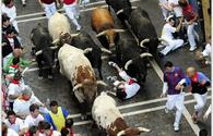 Eight hospitalized on last day of Pamplona bull-run
