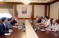 "Azerbaijani defense minister meets U.S. ambassador, new military attaché <span class=""color_red"">[PHOTO]</span>"