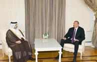 "President Ilham Aliyev receives Qatari municipality, environment minister <span class=""color_red"">[PHOTO]</span>"