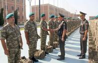 "Group of Azerbaijani peacekeepers sent to Afghanistan <span class=""color_red"">[PHOTO.VIDEO]</span>"
