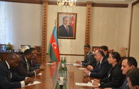 Azerbaijani FM receives State Secretary of Mines and Hydrocarbons of Equatorial Guinea