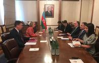 Azerbaijani FM meets with outgoing UK's ambassador