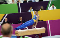 "Best moments of 4th day of artistic gymnastics competitions at EYOF Baku 2019 <span class=""color_red"">[PHOTO]</span>"