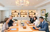 "Azerbaijani First VP meets with French minister of economy and finance <span class=""color_red"">[UPDATE]</span>"