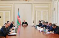 "President Ilham Aliyev chairs meeting on country's socio-economic field <span class=""color_red"">[UPDATE]</span>"