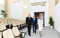 "Azerbaijani President, First Lady attend opening of new administrative building of Pirallahi District Executive Authority <span class=""color_red"">[UPDATE]</span>"