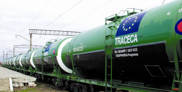 Revenues from TRACECA up
