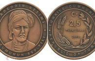 Jubilee coin dedicated to Azerbaijani poet Nasimi's anniversary issued in Turkey